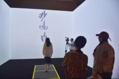 """传统文化结合人机互动,看国博韩天衡艺术展上""""万毫齐力"""""""