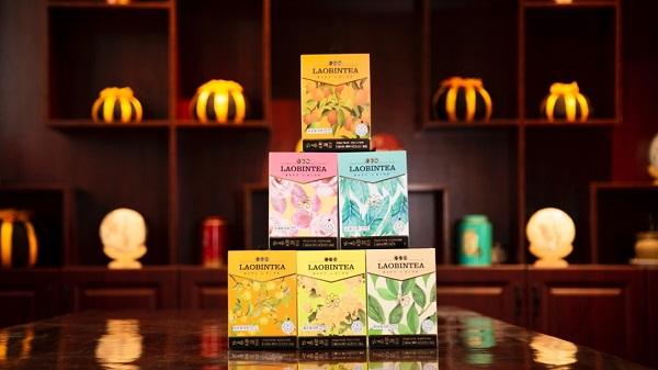 荣光岁月・传承匠心 老彬�小袋茶――六味普洱茶产品正式上市
